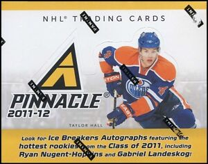 2011/12 PANINI PINNACLE HOCKEY HOBBY BOX NUGENT HOPKINS LANDESKOG SAAD RC YEAR