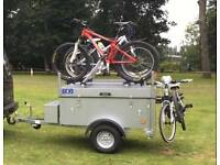 CAMPING/TOOL TRAILER - HINGED LID
