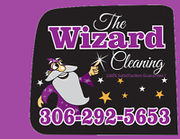 The Wizard Cleaning will help with move-out/move-in