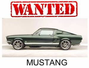 WANTED FORD MUSTANG ALL MODELS AND VARIANTS INSTANT CASH PAID!!! Werribee South Wyndham Area Preview