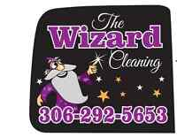 The Wizard Cleaning will take of your home or Office call today