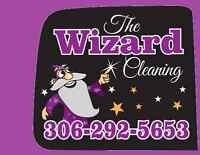 The Wizard Cleaning will take of move-out and Regular Cleaning
