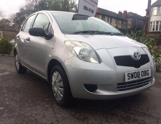 TOYOTA YARIS 1.0 SILVER MANUAL 5DR **CHEAP TO