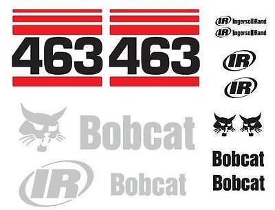 Original Look Bobcat 463 Full Decals Sticker Set Kit 2s9