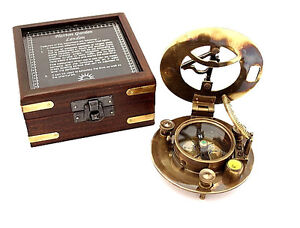 Maritime-Pocket-Sundial-Compass-with-Box-Hatton-Garden-sundial-compass-w-Box