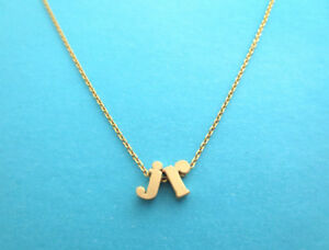 Personalized, Letters, Initials, Gold, Silver, Necklace