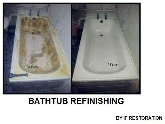 Bathtub Refinishing / Crack Bathtub / Rusty Bathtub Repair