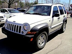 2007 Jeep Liberty Sport SUV, 4WD, Leather