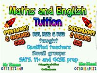 Maths and English Tuition