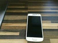 White samsung galaxy s4 mini