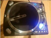 Dj professional Turntables Mixer and fight cases