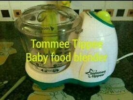 Tommee tippee baby blender food processor
