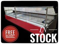 392cm Serve Over Counter Display Fridge N4204/05RD £4584+VAT CARMEN