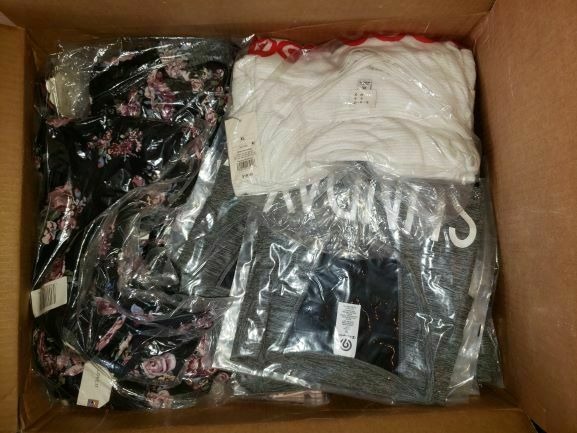 NEW Womens Clothing Shoe Reseller Wholesale Bundle Box Lot Min. Retail 200