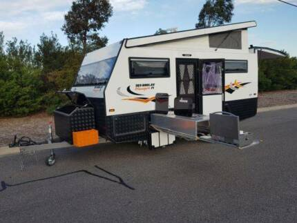 family caravan toy hauler camper enclosed box trailer motorbike Campbellfield Hume Area Preview