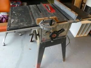 CRAFTSMAN 9 INCH TABLE SAW    (DARTMOUTH)