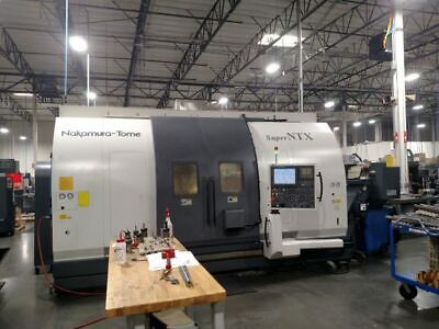 Nakamura Tome Super Ntx Millturn Cnc Lathe Put In Service 2010 Only 1000 Hours