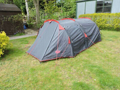 Campus Sherpa 3 Man Tent. Grey.  Used but good condition