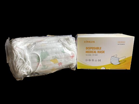 Kinder-Mundschutz (50 Stück) medizinisch mit Motiv