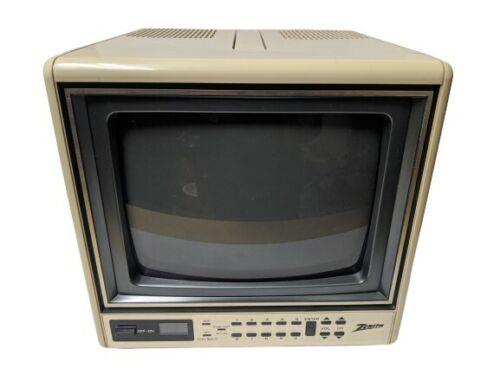 "Zenith 9"" Portable Color Tube CRT Television TV"