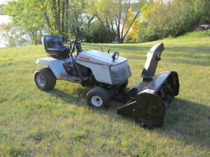 Craftsman 12.5HP Tractor w/mower and snowblower