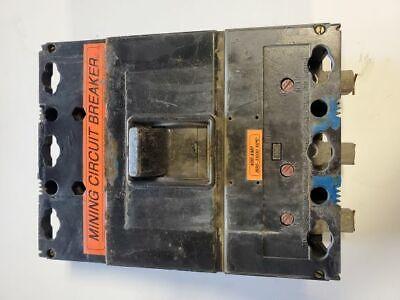 Westinghouse Mining Circuit Breaker 400 Amp 800 - 1600 40 Degrees C 3 Pole