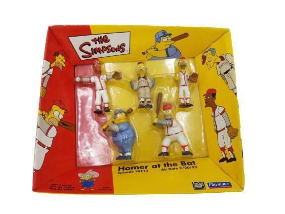 The Simpsons Homer At Bat