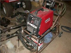 Lincoln Mig Welder SP 100 complete ready to weld