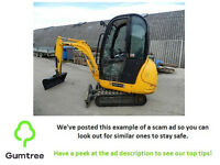 JCB 8014 Mini Digger -- Read the description before replying to the ad!!