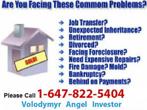 Sell your House for CASH, Fast Closing
