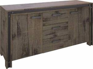 """""""Pyrmont"""" Timber Buffet with 3 Drawers and 2 Doors Brisbane City Brisbane North West Preview"""