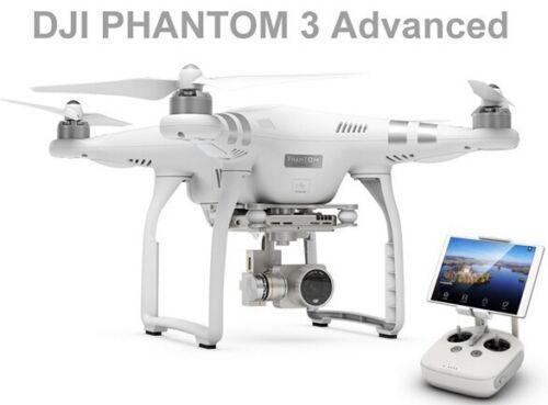 DJI Phantom 3 Advanced RTF Quadcopter Drone with Gimbal 2.7K HD1080P FPV Camera
