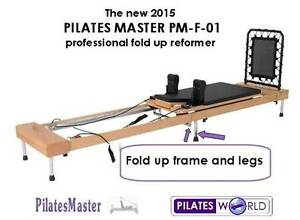 AUSTRALIAS BEST FOLD AWAY PILATES REFORMER DEAL-NEW with warranty Helensvale Gold Coast North Preview