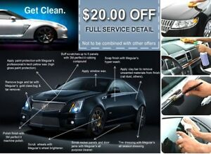 Vehicle and recreational detailing services - reasonable prices!