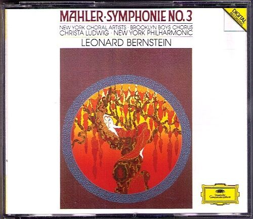 Leonard BERNSTEIN: MAHLER Symphony No.3 Christa LUDWIG 2CD New York Philharmonic