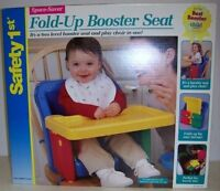 SAFETY 1ST BOOSTER SEAT AND TRAY HIGH CHAIR TRAVEL PORTABLE