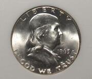 Franklin Half Dollar MS65