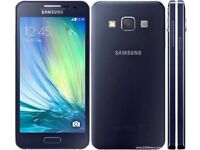 SAMSUNG GALAXY A3 A300FU BLUE- UNLOCKED- LIKE NEW-