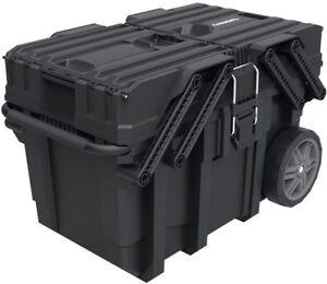 kennedy cantilever tool box. mobile job tool box storage organizer wheels portable garage cantilever kennedy o