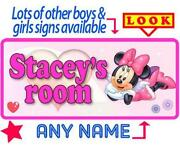Personalised Room Plaque