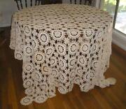 Handmade Crochet Tablecloth