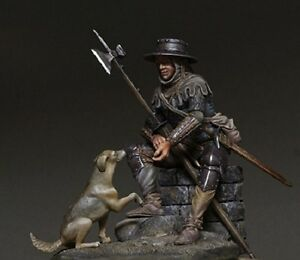 Figurino-75mm-TARTAR-MINIATURES-75-52-Medieval-european-man-at-arms
