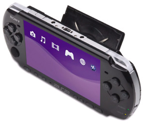 PSP Slim (Black) W/ Games, 4Gb Memory, charger