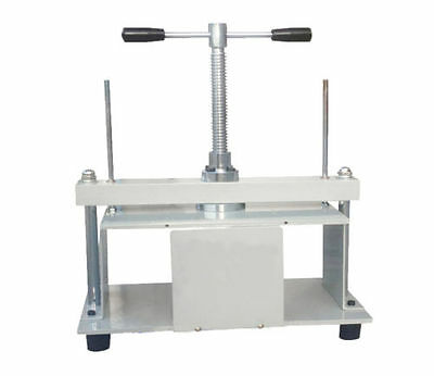A4 Size Manual Flat Paper Press Machine For Paper Books Invoices T