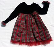 Plaid Christmas Dresses 3T