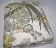 Pottery Barn King Duvet Bird