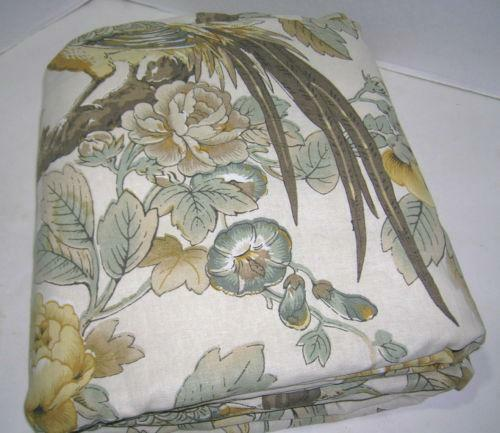 Pottery Barn King Duvet Bird Ebay