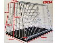 "CDC 34"" Sloping Dog Crate for hatchback or estate car"