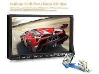 """RDS Double Din 7""""Car DVD Audio Stereo"""