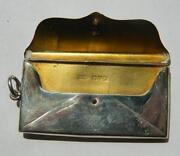 Silver Stamp Holder